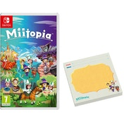 Miitopia Nintendo Switch Game (with Sticky Notes Pad)