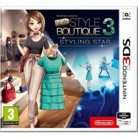 New Style Boutique 3 Styling Star 3DS Game