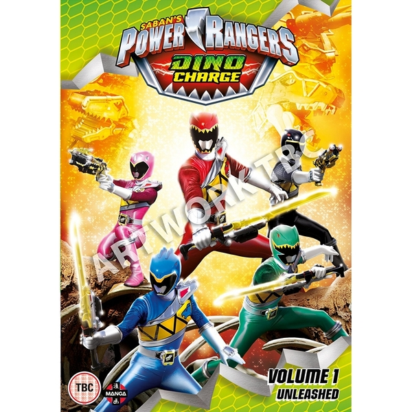 Power Rangers Dino Charge Unleashed (Volume 1) DVD