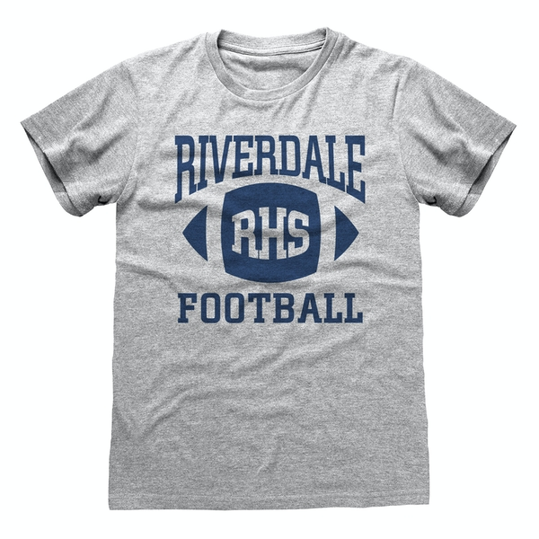 Riverdale - Football Unisex Small T-Shirt - Grey