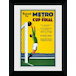 Transport For London Metro To The Cup Final 50 x 70 Framed Collector Print - Image 2