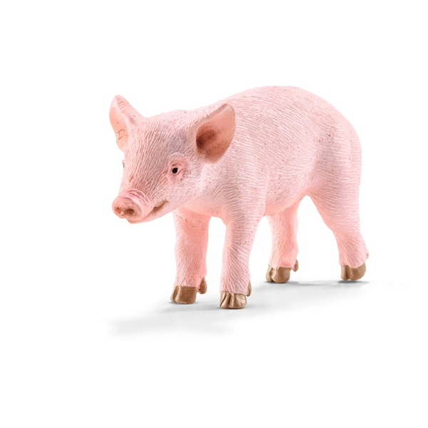Schileich - Farm World Piglet Toy Figure Standing