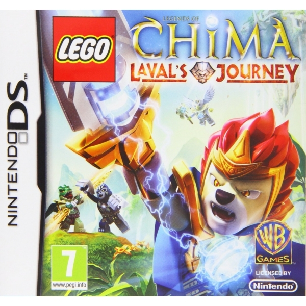 Lego Legends of Chima Lavals Journey Game DS
