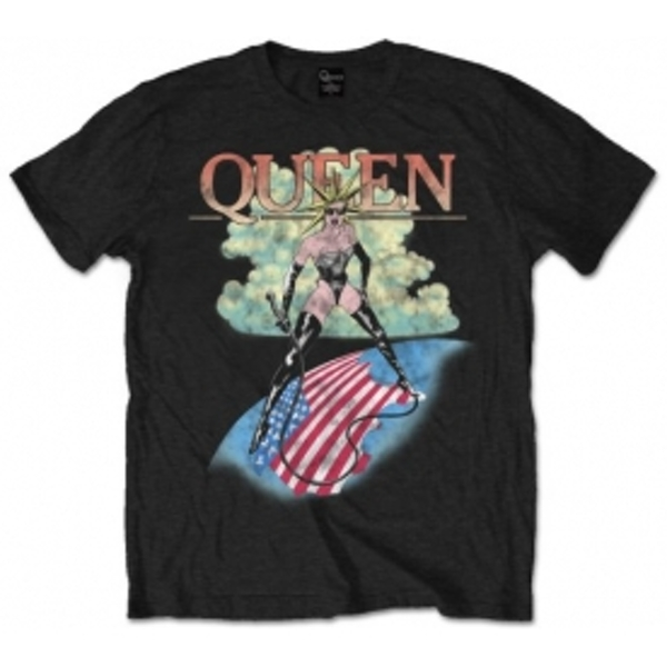 Queen 'Mistress' Men's Medium T-Shirt - Black