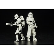 Star Wars Episode 7 First Order Snowtrooper & Flametrooper Two Pack The Force Awakens Art FX+