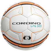 Precision Cordino Lite Match Football 320g White/Fluo Orange/Black Size 5