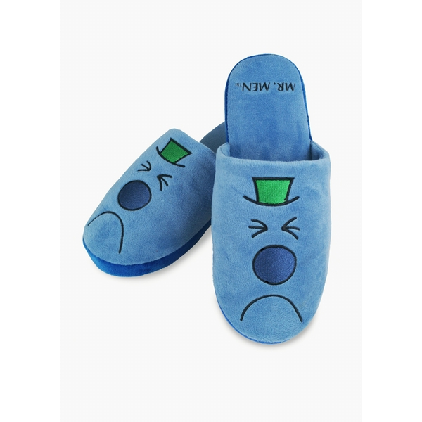 Mr Men & Little Miss – Mr Grumpy Slippers UK Size 8-10