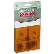 Star Wars X-wing Bases and Pegs Accessory Pack - Orange