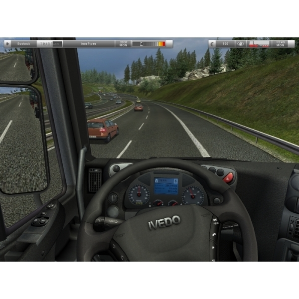 German Truck Simulator PC CD Key Download for Excalibur - 365games co uk