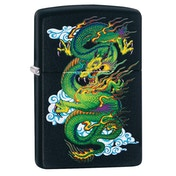Zippo Dragon Black Regular Windproof Lighter