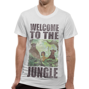Jungle Book - Welcome To The Jungle Men's Small T-Shirt - White