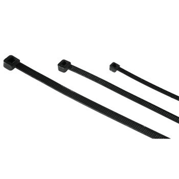 Hama Set of Cable Ties, 150 pieces, self-securing, black