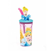 Disney Princesses 3D Figurine Tumbler Bottle