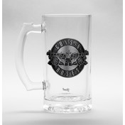 Guns N Roses  Logo Glass Stein