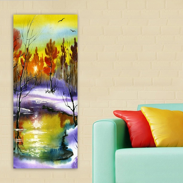 DKY22759594_50120 Multicolor Decorative Canvas Painting