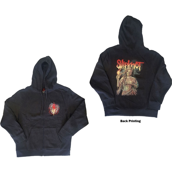 Slipknot - Burn Me Away Unisex XX-Large Hoodie - Grey