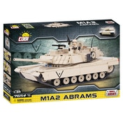 Cobi Small Army M1A2 Abrams Tank - 765 Toy Building Bricks