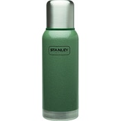 Stanley Adventure 1L Vacuum Bottle Hammertone Green