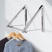Wall Mounted Folding Clothes Hanger M&W Double - Image 2