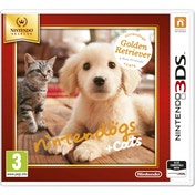 Nintendogs + Cats Golden Retriever & New Friends Edition 3DS Game (Selects)