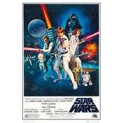 Star Wars: A New Hope One Sheet B Maxi Poster