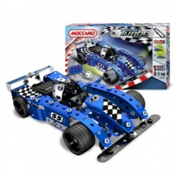 Meccano Turbo Evolution Blue