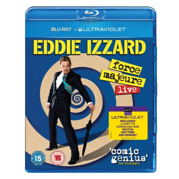 Eddie Izzard: Force Majeure Live Blu Ray