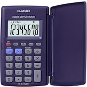 Casio HL820VER Pocket Calculator with Euro Conversion