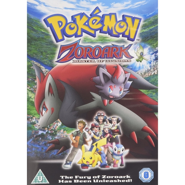 Pokemon Zoroark: Master of II DVD