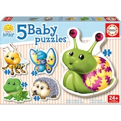 Educa Baby Early Learning My Forest Animals Jigsaw Puzzles 5 Piece Set