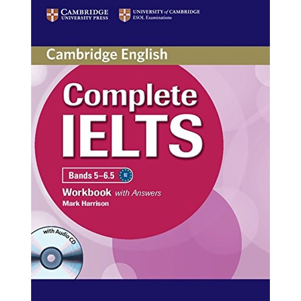 Complete IELTS Bands 5-6.5 Workbook with Answers with Audio CD  Mixed media product 2012