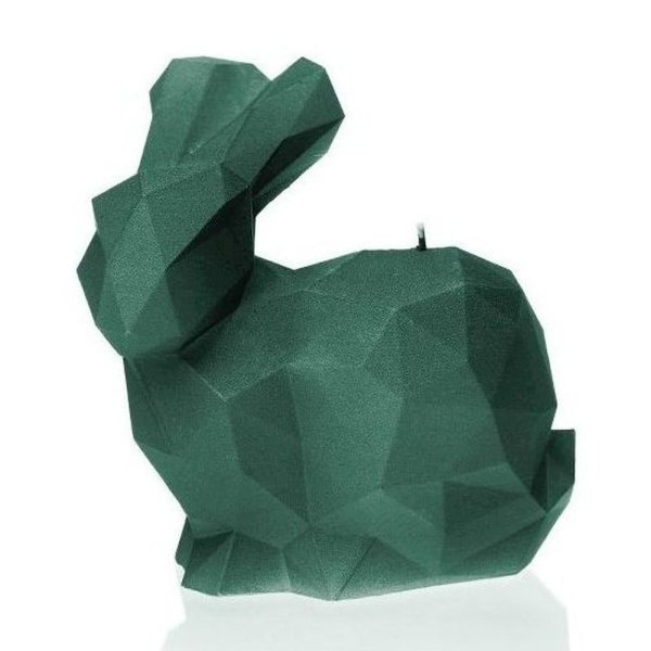 Aligator Green Large Rabbit Candle