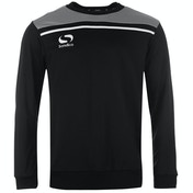 Sondico Precision Sweatshirt Adult Small Black/Charcoal