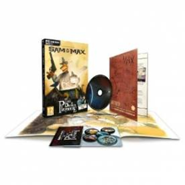 Sam & Max The Devils Playhouse Collector's Edition Game PC