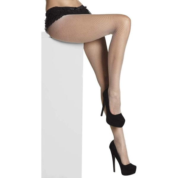 Fishnet Tights One Size (White)