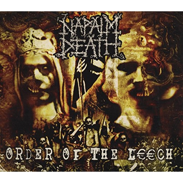 Napalm Death - Order Of The Leech Vinyl