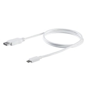StarTech 3.3 ft. (1 m) USB-C to DisplayPort Cable - 4K 60Hz - White