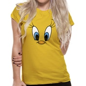Looney Tunes - Tweety Face Women's XX-Large T-Shirt - Yellow