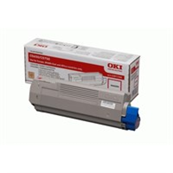 OKI 43872306 Toner magenta, 2K pages @ 5% coverage