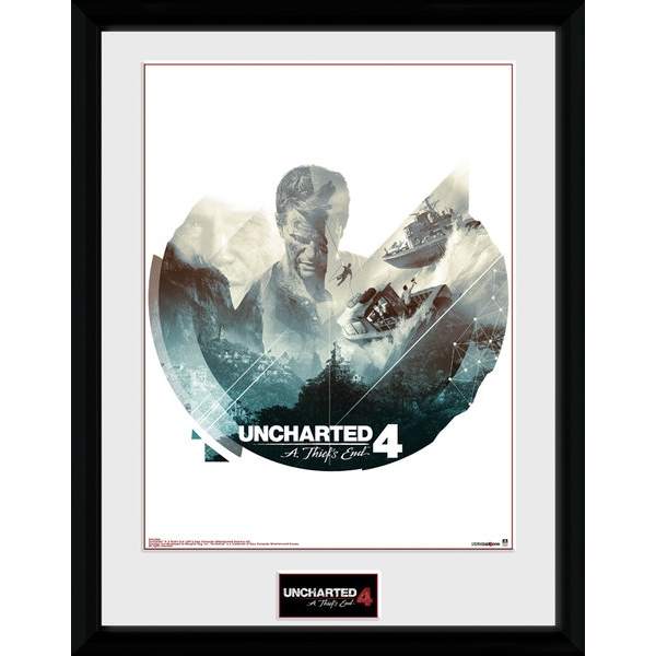 Uncharted 4 Boats Collector Print