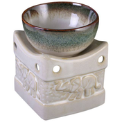 Two Tone Elephant Oil Burner