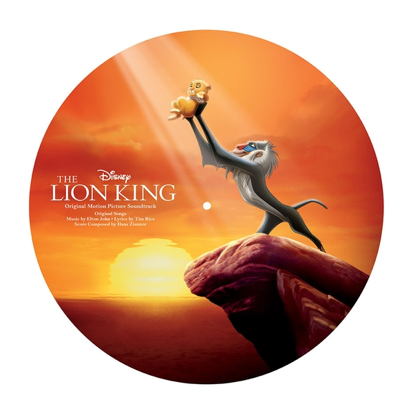The Lion King Soundtrack OST Picture Vinyl