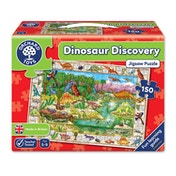 Orchard Toys Dinosaur Discovery Jigsaw Puzzle - 150 Pieces [Damaged]