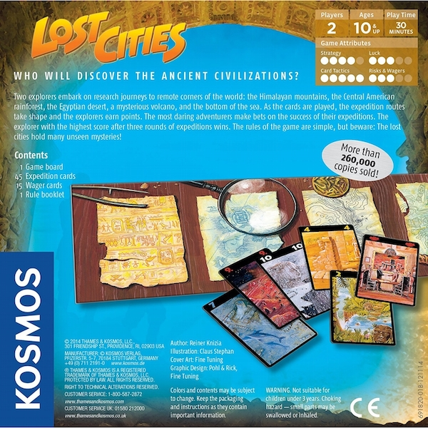 Lost Cities - The Card Game - Image 2
