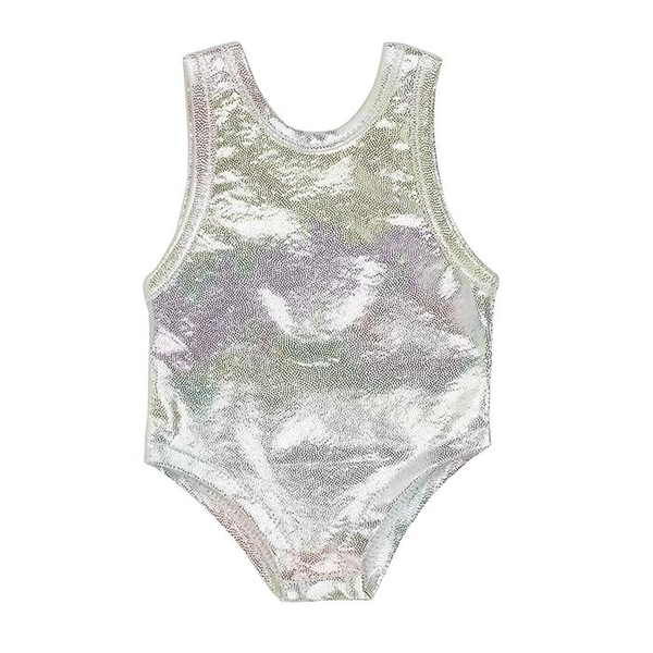 I'm a Girly Silver Swimsuit