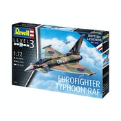 Eurofighter Typhoon (British Legends) 1:72 Revell Model Kit