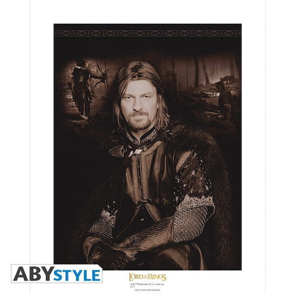 Lord Of The Ring - Boromir Collector Artprint