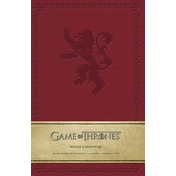House Lannister (Game of Thrones) Hardcover Ruled Journal