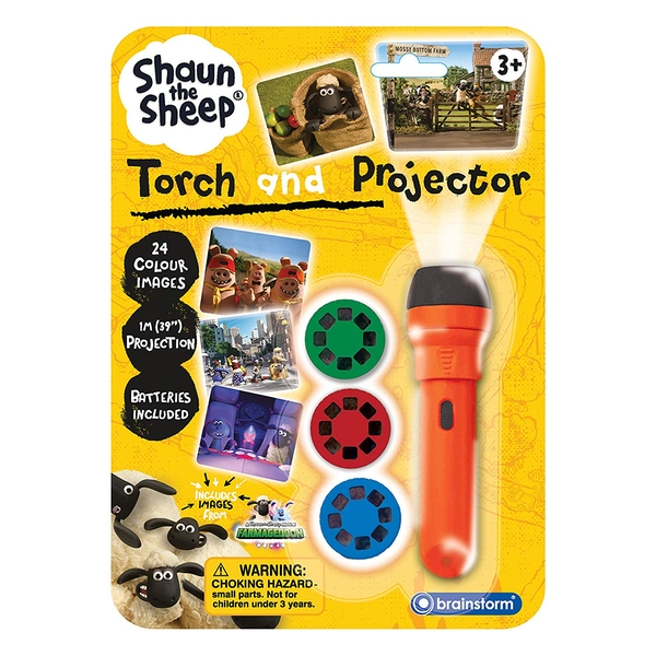 Brainstorm Toys - Shaun the Sheep Torch and Projector