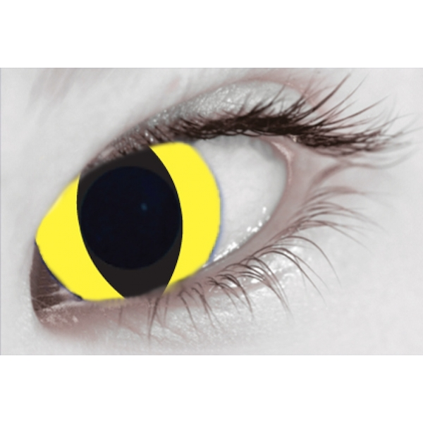 Yellow Cat MesmerGlow UV Cosmetic Lenses 1 Month